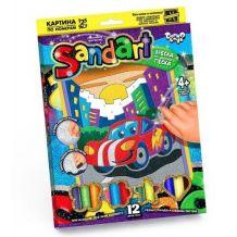 Фреска з кольорового піску, Danko Toys, SA-01-01