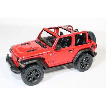 Модель Kinsmart 2018 Jeep Wrangler (Open Top), KT5412WA