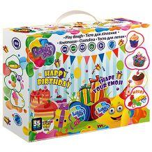 """Набір тіста для ліплення Lovin'Do """"Happy birthday"""", ОКТО, 11012"""