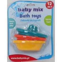 "Іграшка для ванни ""Човники"", Baby Mix, HS0221"