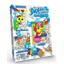 """Набір для творчості """"Aqua painter"""" водна розмальовка, Danko Toys, AQP-01-05U"""