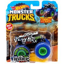 "Машина-позашляховик Invader Hot Wheels серії ""Monster Trucks"" Hot Wheels, FYJ44/GJF31"