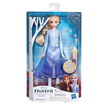 Лялька Frozen 2 Яскрава Ельза із світловим ефектом, Hasbro, E6952/E7000
