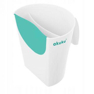 Кружка для миття голови біла, AKUKU, A0430