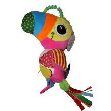 """Іграшка-підвіска """"Папуга"""" рожевий, LimoToy, A5164"""