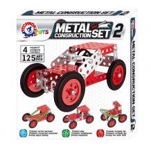 Конструктор металевий 4 моделі, ТехноК, 6405