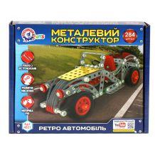 """Конструктор металевий """"Ретро автомобіль"""", ТехноК, 4821"""