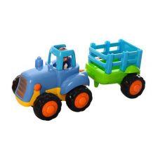 """Спецтехніка """"Трактор з причіпом"""" 1шт, LimoToy, 326AB"""