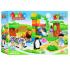 "Конструктор (аналог Lego Duplo) ""Зоопарк"" 36 деталі, JDLT, 5088"