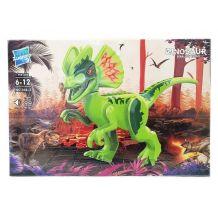 Конструктор Дилофозавр зі звуком, Zuanma, 046-2