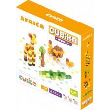 Дерев'яний конструктор World Африка 200 елементів, Cubika, 15306