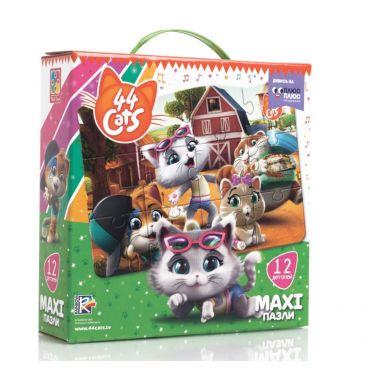 """Maxi пазлы """"44 Коты. На ферме """", Vladi Toys, VT1722-01"""