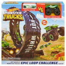 "Ігровий набір Hot Wheels ""Мертва петля"" серії Monster Trucks, GKY00"