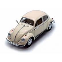 Модель Kinsmart 1967 Volkswagen Classical Beetle (Pastel Color 1:32), KT7002WY