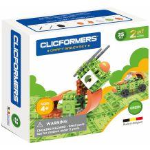 Конструктор Craft Green-set 2-in-1 (25дет), Clicformers, 807003