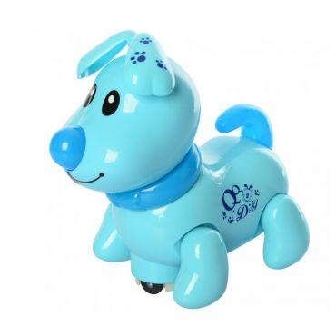 """Розвиваюча іграшка """"Кумедне цуценя"""" блакитний, Limo Toy, EM070A"""