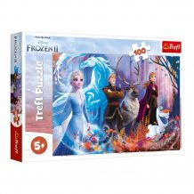 "Пазл ""Frozen 2 Магія крижаної землі"", 100ел., Trefl, 16366"