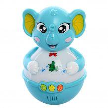 "Неваляшка-нічничок ""Слон"", Limo Toy, 8802ABCD"
