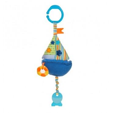 Іграшка велюрова музична Вітрильник, 1391