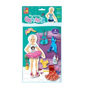 """Магнітна гра """"Блондинка"""", Vladi Toys, VT3204-22"""