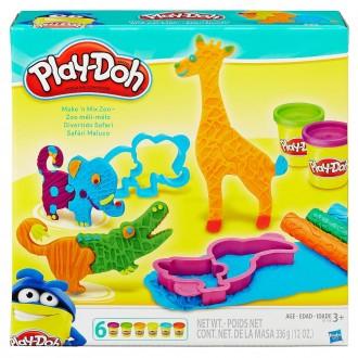 """Ігровий набір """"Веселе сафарі"""" Play-Doh, B1168"""