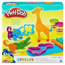 """Игровой набор """"Веселое сафари"""" Play-Doh, B1168"""