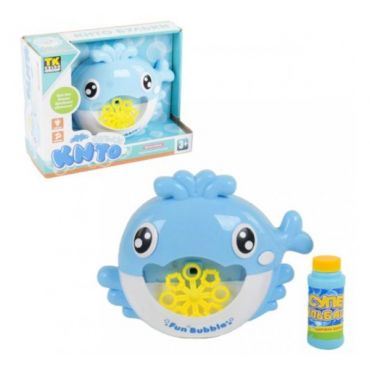 "Генератор мильних бульбашок ""Кито бульки"" блакитний, Toys, 70783"