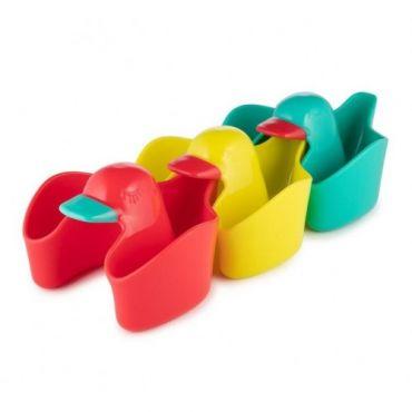 Іграшки для купання качечки 3 шт, Canpol babies, 56/498