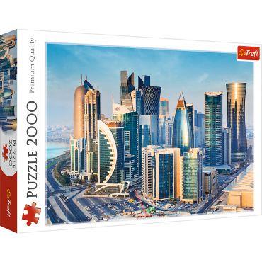 """Пазл """"Доха, Катар"""" 2000ел., Trefl, 27084"""