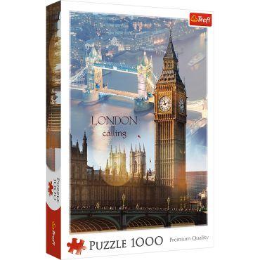 """Пазл """"Лондон на світанку """" 1000ел., Trefl, 10395"""