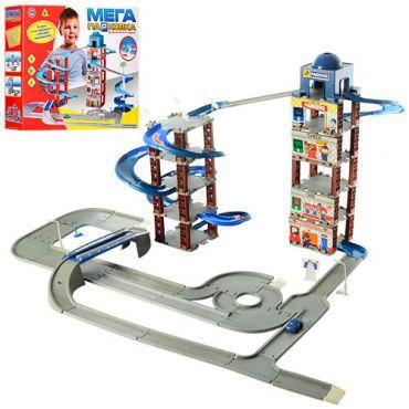 """Ігровий набір Паркінг - гараж """"Мега парковка"""" 6 поверхів, Toys, 922-5"""