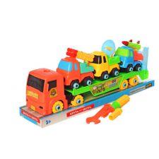 """Конструктор на шурупах """"Трейлер"""" різнобарвний, Toys, 8810-8861"""