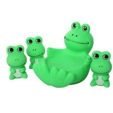 """Набір іграшок для купання """"Жабки"""", Toys, 522-3-4"""