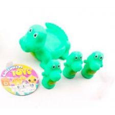 """Набір іграшок для купання """"Крокодил"""", Toys, 522-3-4"""