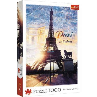 Пазл Trefl Париж, 1000ел., 10394