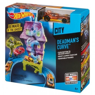 "Игровой набор ""Поворот с привидениями"" Hot Wheels, BGH94 (CDL86)"