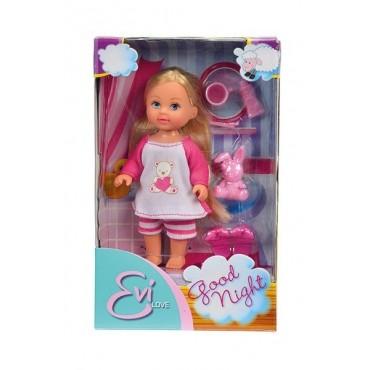 Лялька Еві в піжамі, 12 см, 5730515