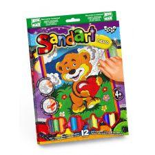 Фреска з кольорового піску Sand Art, Danko Toys, SA-02-09
