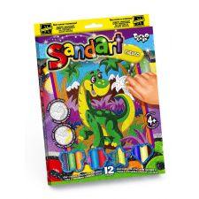 Фреска з кольорового піску Sand Art, Danko Toys, SA-02-10