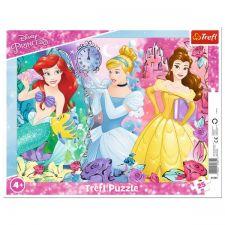 """Пазл рамковий """"Чарівні принцеси"""" 25ел, Trefl, 31360"""