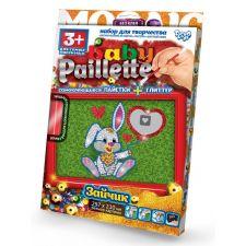 """Набір креативної творчості """"Baby Paillette"""", Danko Toys, PG-01-06"""