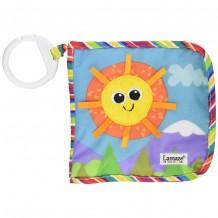 Развивающая мягкая Книжечка LAMAZE Солнце, LC27126