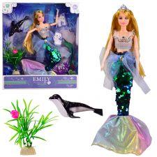 Кукла Emily Русалка шарнирная, Toys, QJ092B