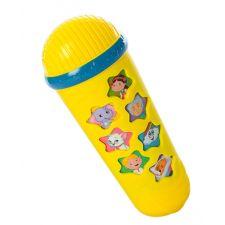 """Музыкальный микрофон """"Караоке"""" желтый, LimoToy, M3855"""