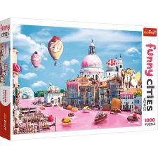 """Пазл Funny Cities """"Сладости в Венеции"""" 1000ел., Trefl, 10598"""