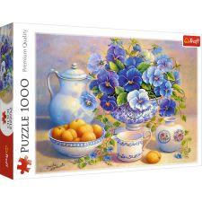 """Пазл """"Натюрморт с персиками"""" 1000ел., Trefl, 10466"""