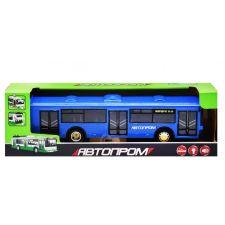 """Модель """"Автопром"""" Троллейбус 28см синий свет и звук (1:54), 9690"""