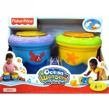 Барабан Fisher-Price Ползать и играть, T4472