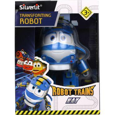 Паротяг-трансформер Robot Trains Silverlit Кей 10 см, 80164