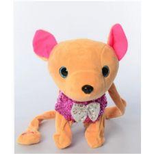 """Интерактивная собачка """"Кикки"""" в розовом с пайетками, Toys, M4307"""